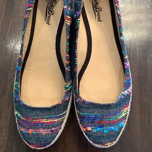 Espadrille Wedges - Lucky Brand multi-color